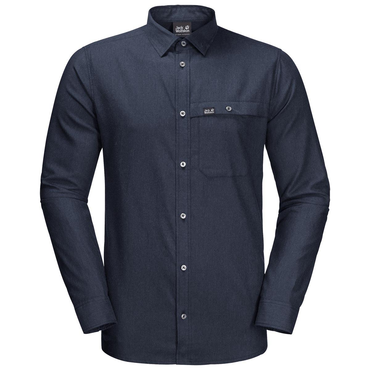 Рубашка с дл. рукавом NAKA RIVER SHIRT M