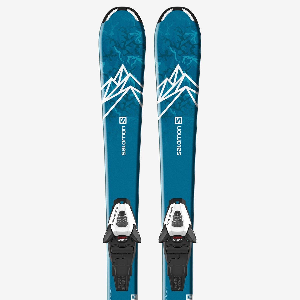 Комплект: лыжи + крепления QST MAX Jr S + C5 GW J75