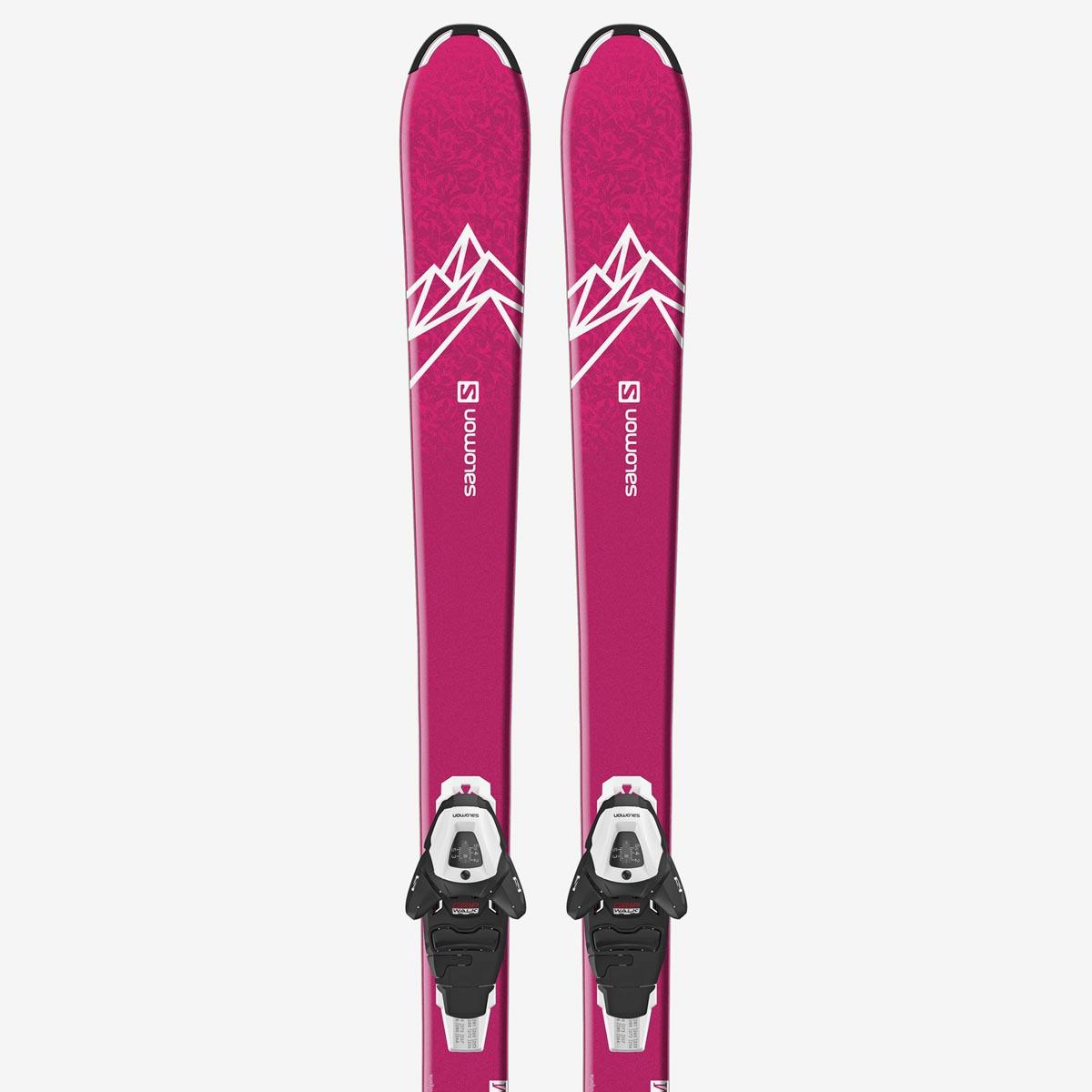 Комплект: лыжи + крепления QST LUX JR M + L6 GW J2