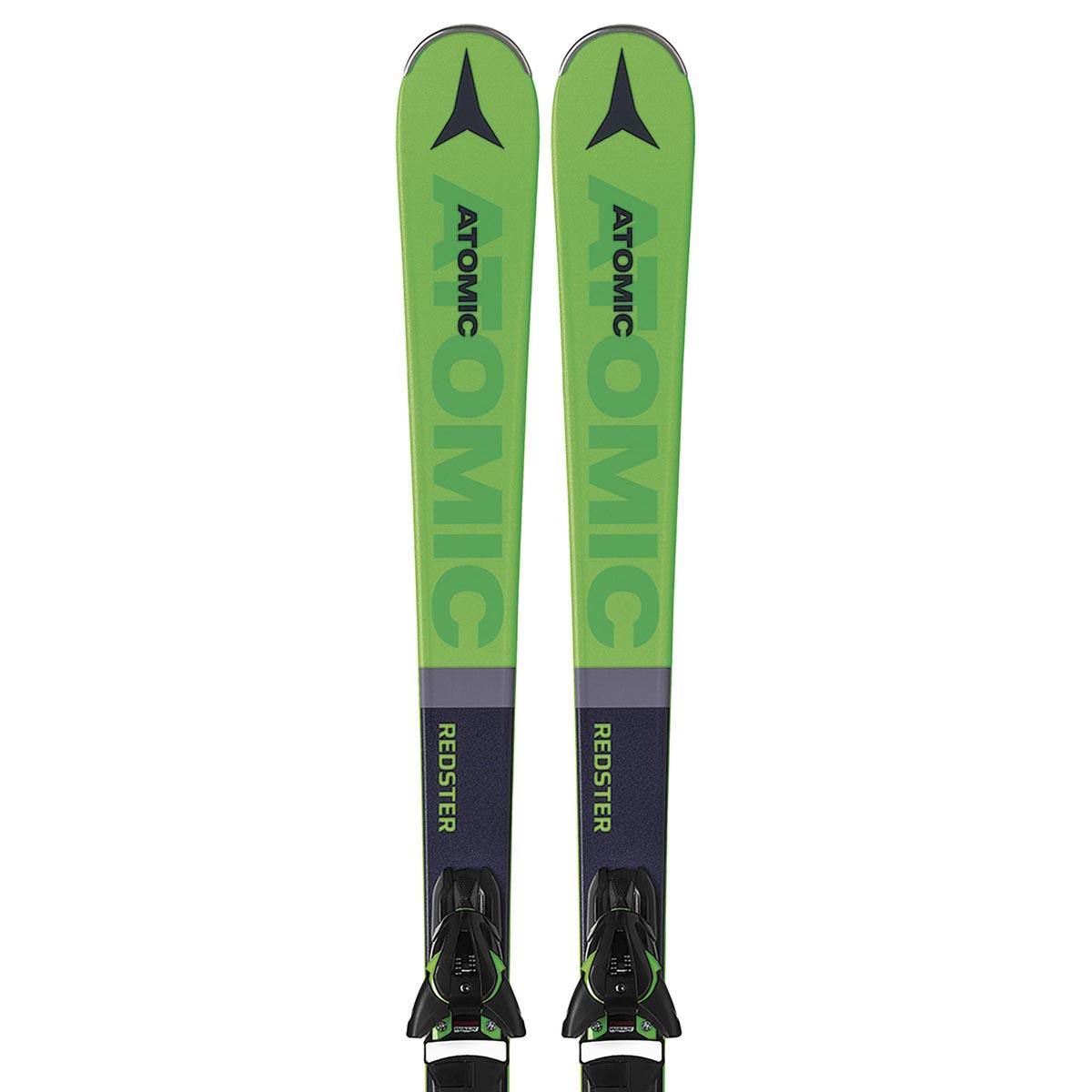 Комплект: лыжи + крепления REDSTER X5 GREEN + FT 10 GW