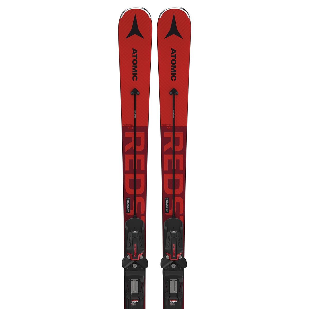 Комплект: лыжи + крепления REDSTER S9 + X 12 GW