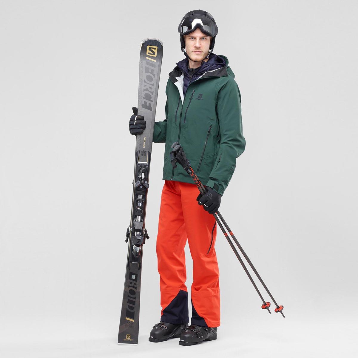 Брюки лыжные ICESTAR 3L PANT M