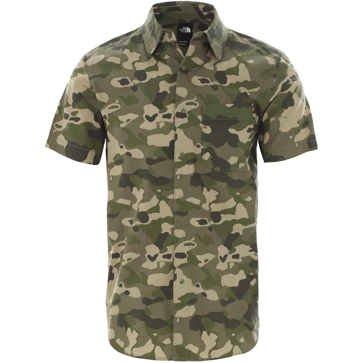 Рубашка S/S BAYTRAIL PATTERN SHIRT